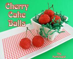 Cherry cake balls - just adorable!