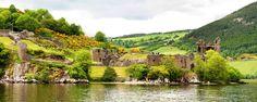 Une page d'histoire  Urquhart Castle en Ecosse