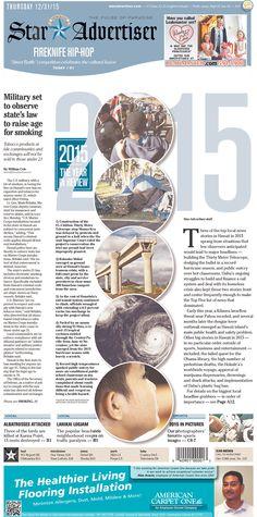 The Honolulu Star-Advertiser 12/31/15 via Newseum