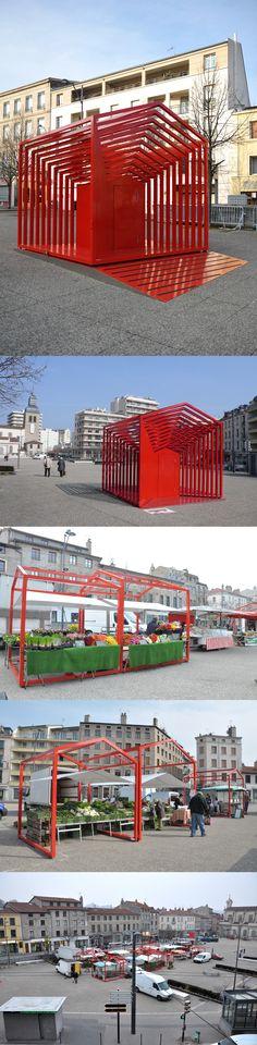 Le Cube Gigogne_Mobilier urbain modulable_Mars 2015_Saint-Etienne