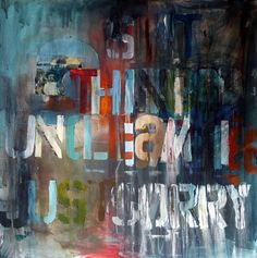 """Niki Hare; Mixed Media, 2013, Painting """"unclear"""""""