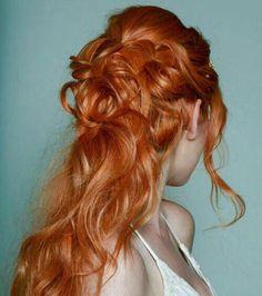 Imagen de hair, redhead, and katherine mcnamara Sansa Stark, Hair Inspo, Hair Inspiration, Lily Evans, Hair Goals, Redheads, My Hair, Hair Makeup, Hair Color