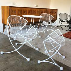 Custom made outdoor chairs.