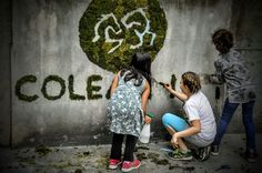 Teamwork ist alles … und ganz einfach :-) Moss Graffiti, Simple, Kids