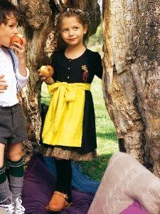 Burda Style: Kinder - Mädchen - Gr. 92 - 188 - Kleider - Mädchen-Dirndl - Schürze