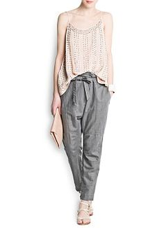 Love this entire look from Mango