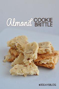 Almond Cookie Brittle