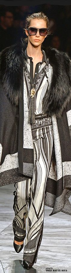 #Milan Fashion Week Roberto Cavalli Fall/Winter 2014 RTW