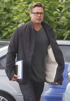 How to Get Brad Pitt's Short Haircut: The GQ Eye: GQ on Style: GQ