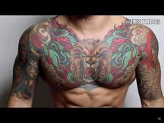 Chest tattoo men Tattoos Chest tattoo, Tattoos, Tattoos for guys Hi Here we have best photo about body tattoo chest. Lion Chest Tattoo, Rose Chest Tattoo, Cool Chest Tattoos, Chest Piece Tattoos, Pieces Tattoo, Face Tattoos, Girl Tattoos, Tattoos For Guys, Men Tattoos