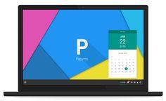 Papyros - Linux Based OS that follows Google Material Design Principles