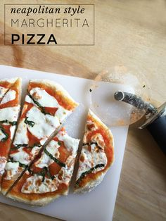 Neapolitan Style Margherita Pizza | Make AMAZING pizza at home!
