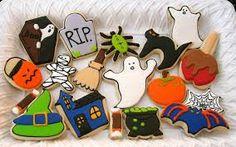 galletas decoradas halloween - Buscar con Google