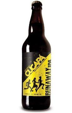 Cervecería Cucapá Runaway Artesanía Liquida Cerveza Ámbar Estilo IPA 7.5% Alc. Vol. Tijuana, Baja California, México