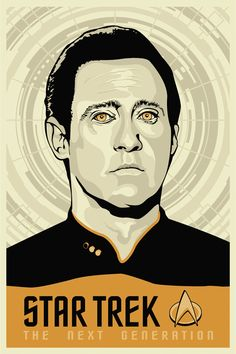 Star Trek: The Next Generation - Fan Art, Posters by Tracie Ching, via Behance