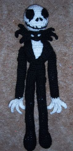 Jack Skellington - Free Crochet Pattern