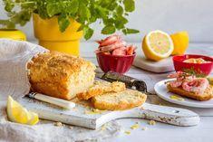 Sitronbrød - perfekt til rekemiddagen Frisk, Kefir, French Toast, Recipies, Baking, Breakfast, Food, Summer, Recipes