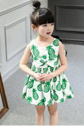 SHARE & Get it FREE   Cute Scoop Neck Sleeveless Pineapple Print Dress For GirlsFor Fashion Lovers only:80,000+ Items • New Arrivals Daily • Affordable Casual to Chic for Every Occasion Join Sammydress: Get YOUR $50 NOW!