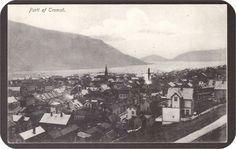 Troms fylke Tromsø Utg Norbye Stemplet 1919.