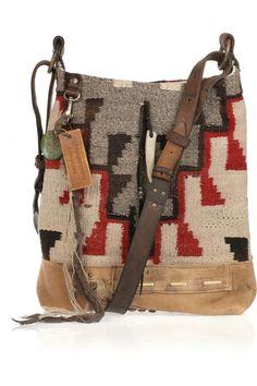 Vintage Blanket hobo bag by Ralph Lauren Collections from front view Sac  Ralph Lauren, Hobo eb3d4236c1b