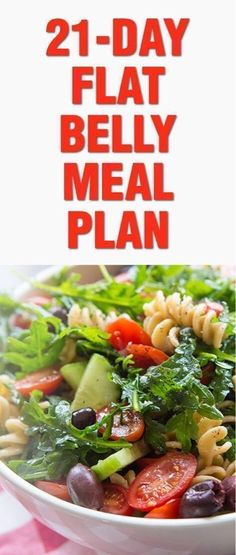 21-Day Flat Belly Meal Plan