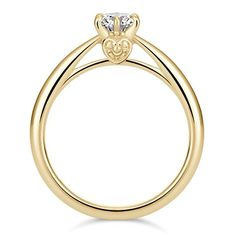 [Sailor Moon] Cosmic Heart Ring Yellow Gold (with diamonds) Gold Heart Ring, Gold Rings, Sailor Moon Jewelry, Cosmic, Nerdy, Daisy, Shampoo, Diamonds, Walking