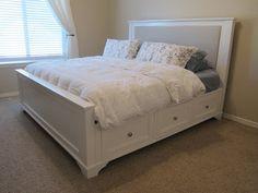 do it yourself divas: DIY: King Size Storage Bed Part 1