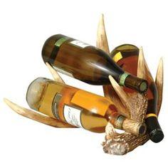 Antler wine bottle holder - $50
