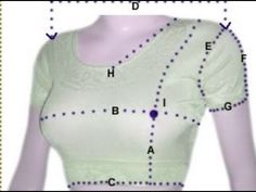 learn how to measure or take stitched sari blouse with names using tape - YouTube - very womens blouses, womens green shirt blouse, brown blouse *ad