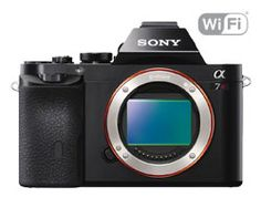 Shop for Sony Full Frame Compact System Camera Body With Sony E Mount - Aps-c Prime Lens, Black. Starting from Compare live & historic camera digital prices. Cameras Nikon, Sony Camera, Camera Gear, Focus Camera, Camera Tips, Digital Lenses, Digital Slr, Wi Fi, Sony Alpha A7s