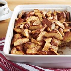 Apple Cinnamon Baked French Toast | Organic Recipe Book