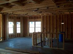 inside framing pic - new home in fastest growing new home neighborhood  #Myrtle Beach #Grande Dunes