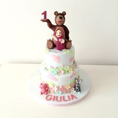 torta Masha e orso Masha and the bear cake