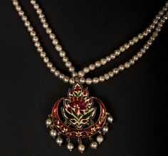 Meena work with basra pearls