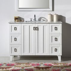 "Found it at Wayfair - Lehigh 48"" Single Sink Bathroom Vanity Set"
