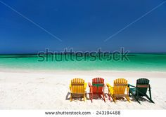 Paradise Beach Chairs Stock Photos, Images, & Pictures | Shutterstock