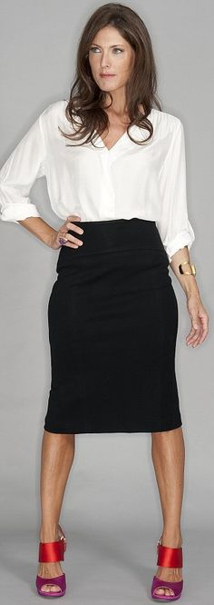 over 40 dressing style | ... fashion line to conceal problem areas for the over-40s pass the test