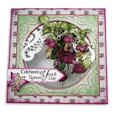 cascading fuchsia cards - Yahoo Image Search results