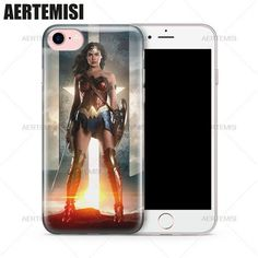 Aertemisi Phone Cases Justice League Wonder Woman Diana Prince Gal Gadot