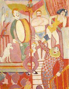 August Macke Auguste Macke Circus Picture II (1911)