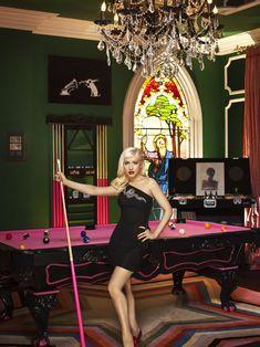 Cristina Aguilera's Beverly Hills Estate