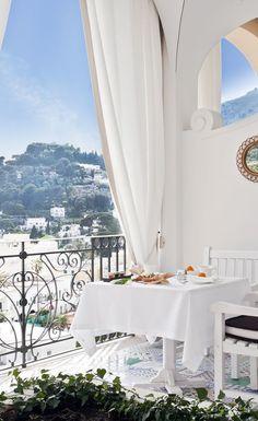 Capri Tiberio Palace in Capri, Italy