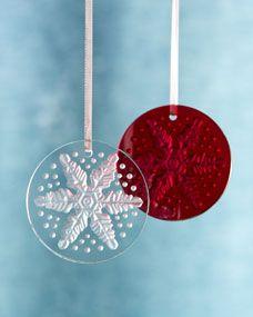 Flocon de Neige Snowflake Ornament