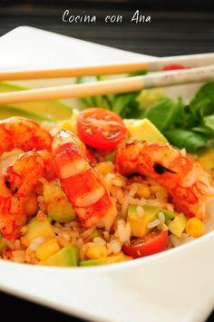 arroz salteado
