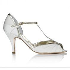 e319cf151668 Ivory Heeled Wedding Shoes Wedding Boudoir