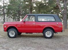 FIRST GENERATION CHEVY BLAZER