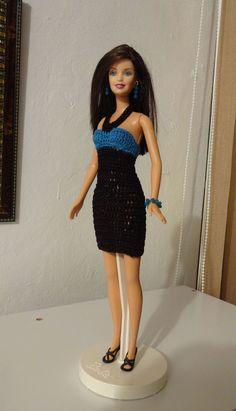 Crochet dress for my Barbies