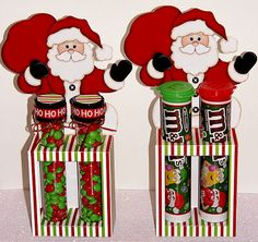 Printable Santa Test Tube and M M Candy Tube Holder Box with Insert Christmas Craft Fair, Xmas Crafts, Christmas Projects, Christmas Cards, Christmas Ideas, Christmas 2014, Holiday Ideas, Candy Crafts, Paper Crafts