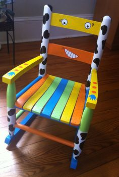 Rock Out rocking chair by 4Kidz on Etsy, $175.00