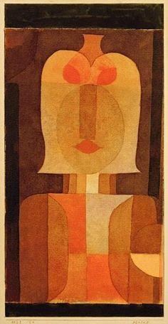 Paul Klee - Maske, 1922, 61.